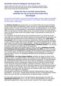 07 Newsletter Juli01